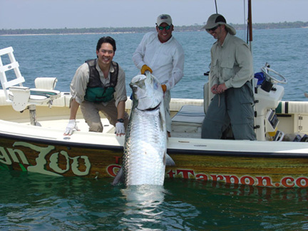 Tarpon fishing in Florida